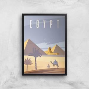 Visit... Egypt Giclée Art Print