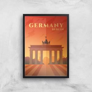 Visit... Germany Giclée Art Print