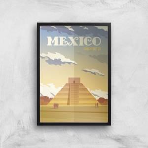 Visit... Mexico Giclée Art Print