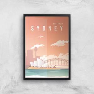 Visit... Sydney Giclée Art Print