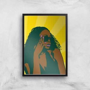 Summer Vibes Pop Inspired Giclée Art Print