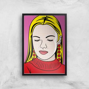Thinking Of You Pop Inspired Giclée Art Print