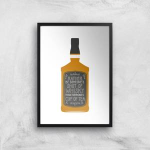 Shot Of Whiskey Giclée Art Print