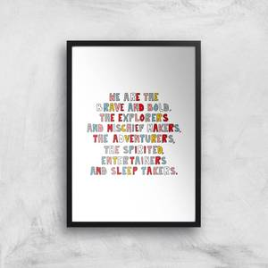 We Are The Young Giclée Art Print
