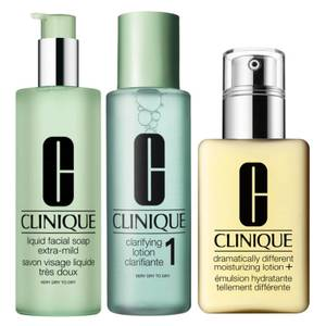 Clinique Very Dry to Dry Skin Regime
