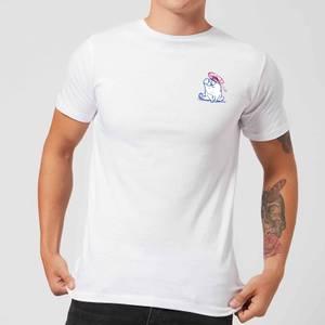 Simons Cat Bumped Head Men's T-Shirt - White