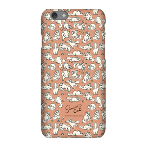 Simons Cat Chasing Toys Phone Case for iPhone and Android