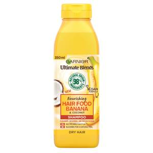 Garnier Ultimate Blends Nourishing Hair Food Banana Shampoo For Dry Hair 350ml