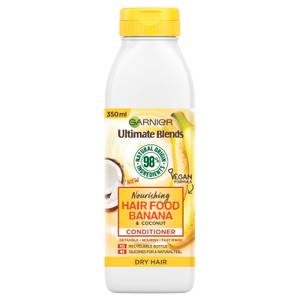 Garnier Ultimate Blends Nourishing Hair Food Banana Conditioner For Dry Hair 350ml
