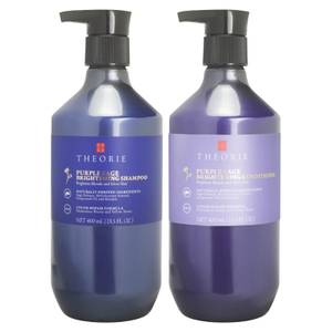 Theorie Purple Sage Brightening Shampoo and Conditioner Duo - Blonde Hair