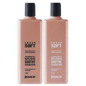 Juuce Argan Soft Shampoo and Conditioner Duo