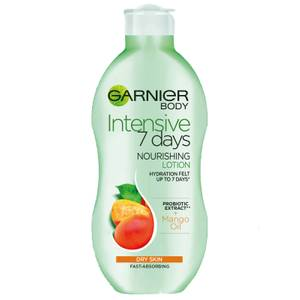 Garnier Intensive 7 Days Mango Probiotic Extract Body Lotion Dry Skin 400ml