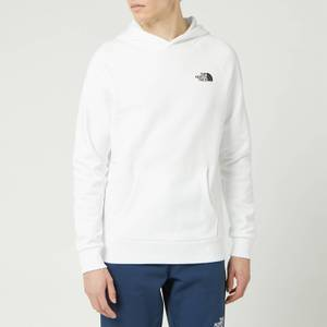 The North Face Men's Raglan Redbox Hoody - TNF White