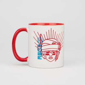 Borderlands 3 Moze Contrast Mug - White/Red