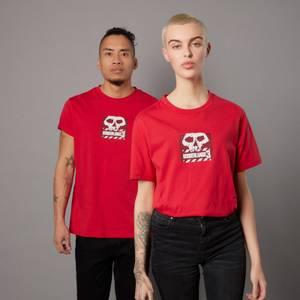Borderlands 3 Skull Logo Unisex T-Shirt - Rot