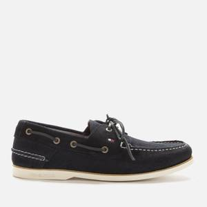 Tommy Hilfiger Men's Classic Suede Boat Shoes - Desert Sky