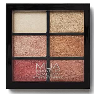 MUA Pro 6 Shade Eyeshadow Palette - Rusted Wonders