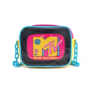 Loungefly MTV Clear Pouch 2-piece Crossbody Bag