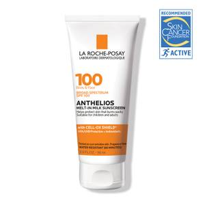 La Roche-Posay Anthelios Melt-in Milk Body & Face Sunscreen Lotion Broad Spectrum SPF 100