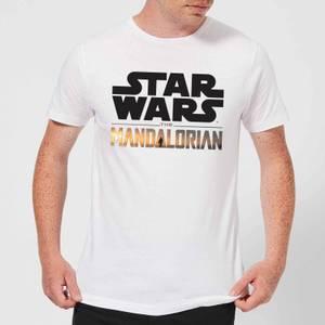 The Mandalorian Mandalorian Title Men's T-Shirt - White