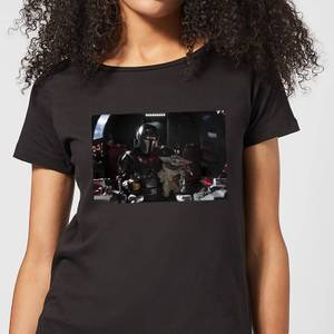 The Mandalorian Pilot And Co Pilot Women's T-Shirt - Black