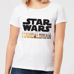 The Mandalorian Mandalorian Title Women's T-Shirt - White