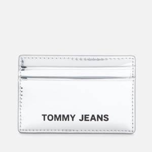 Tommy Jeans Women's Femme Credit Card Holder - Silver