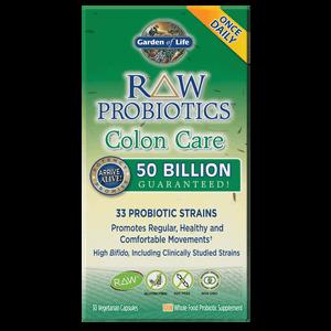 Raw Microbiome Santé du Colon - 30 Capsules