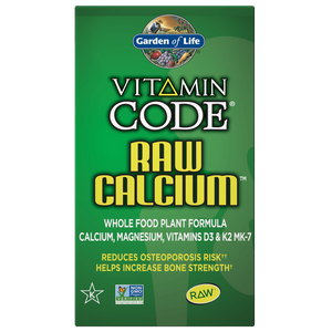 Vitamin Code - Raw Calcium - 60 cápsulas