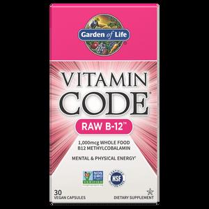 ビタミンコード RAW B-12 - カプセル30錠