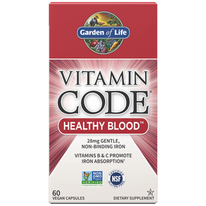 Vitamin Code Healthy Blood - 60 Capsules