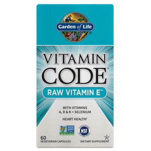 Витаминный комплекс Vitamin Code Raw Vitamin Е - 60 капсул