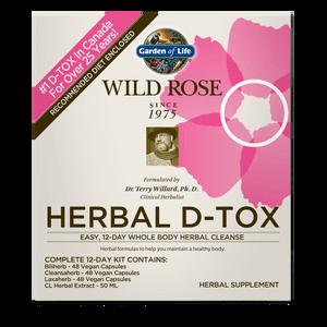 Kit 12 jours - Wild Rose Herbal D-Tox