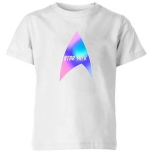 Star Trek - T-shirt Star Trek Logo - Blanc - Enfants