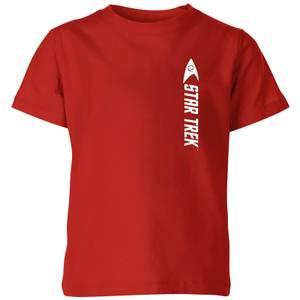 Star Trek - T-shirt Engineer - Rouge - Enfants