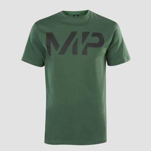 남성용 그릿 티셔츠 - 헌터 그린