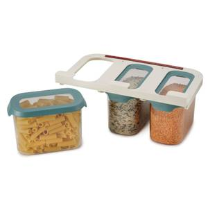 Joseph Joseph CupboardStore 3 Piece Food Storage Set - Dark Opal