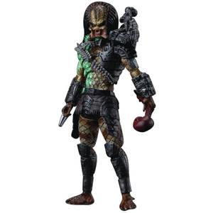 HIYA Toys Predator Battle Damage Jungle Predator Px 1/18 Scale Figure