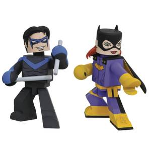 DC Comics Batgirl & Nightwing Comic Vinimate EXC 2 Pack