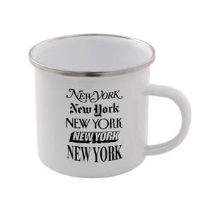The Motivated Type New York New York Enamel Mug
