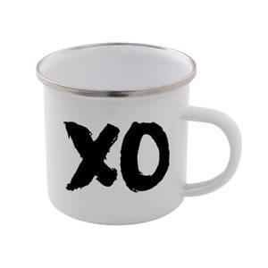 The Motivated Type XO Enamel Mug