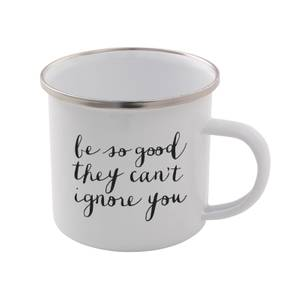 The Motivated Type Be So Good They Can't Ignore You Enamel Mug
