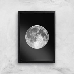 The Motivated Type Single Moon Giclée Art Print