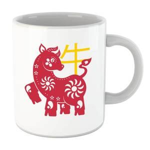 Chinese Zodiac Ox Mug