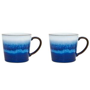 Denby Blue Haze Large Mugs - 400ml (Set of 2)