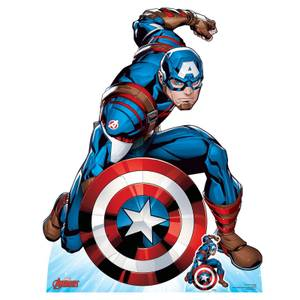 The Avengers Captain America Lifesized Cardboard Cut Out