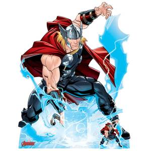 The Avengers Thor Lifesized Cardboard Cut Out
