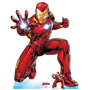 The Avengers Iron Man Lifesized Cardboard Cut Out