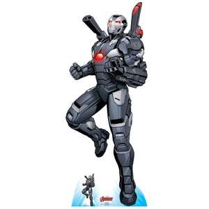 The Avengers War Machine Oversized Cardboard Cut Out