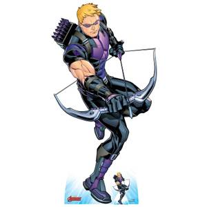 The Avengers Hawkeye Oversized Cardboard Cut Out